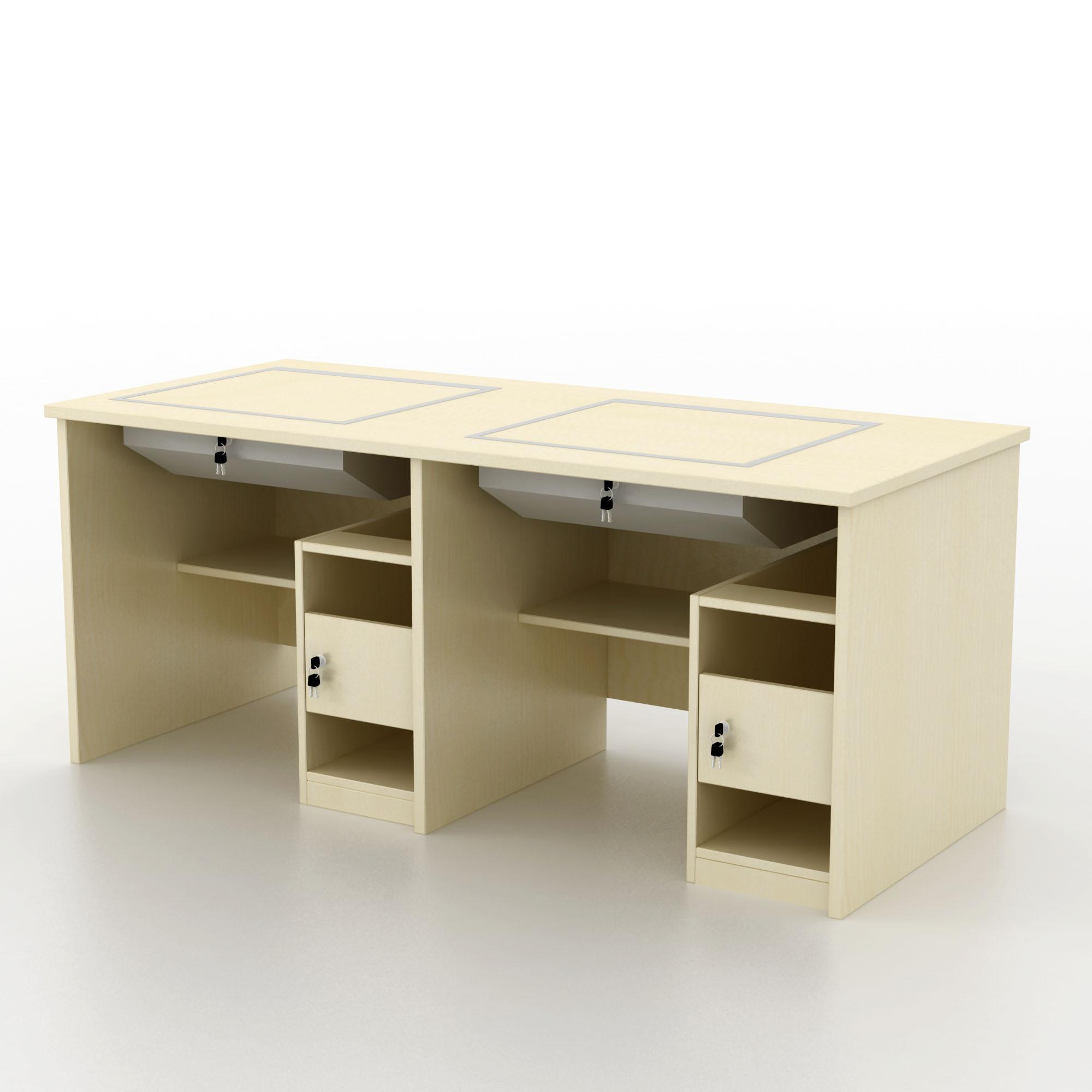 上一个 商品编号:1512021 商品名称:双人电脑桌