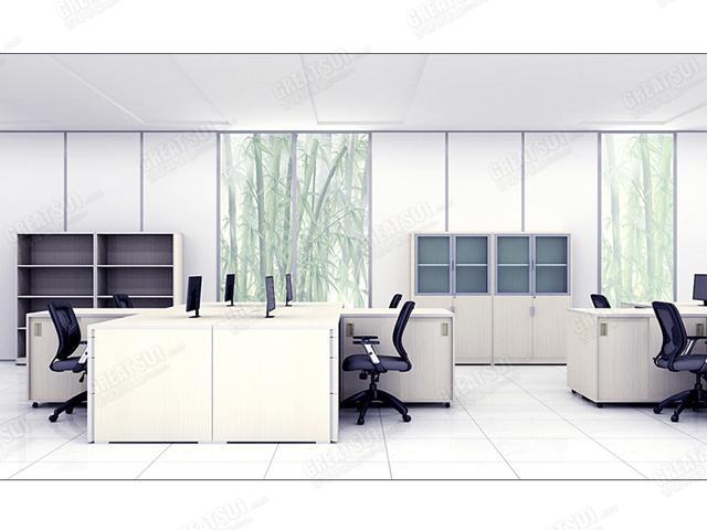 首页 设计方案 开放式办公区