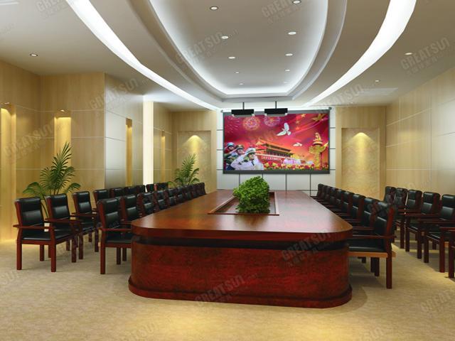 首页 设计方案 传统经典式会议室   点击大图
